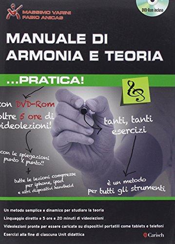9788850724116: Manuale Di Armonia E Teoria ...Pratica +DVD