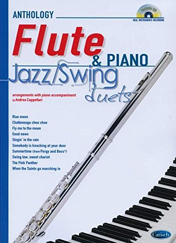 9788850724680: Jazz Swing Duets for Flute & Piano: Anthology Duets (Anthology Duets/Trios/Quartets)