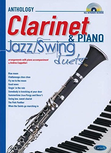 9788850724697: Jazz Swing Duets for Clarinet & Piano: Anthology Duets (Anthology Duets/Trios/Quartets)