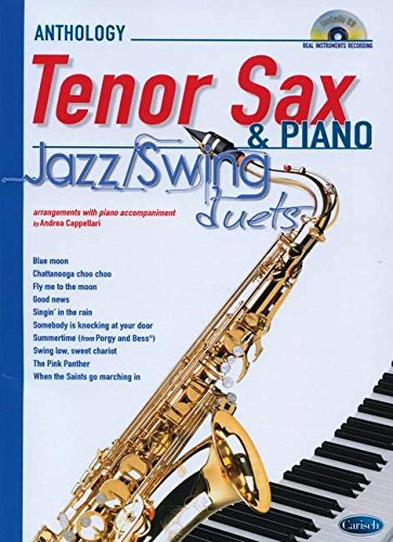 9788850724758: JAZZ SWING DUETS FOR SAX & PIANO: Anthology Duets