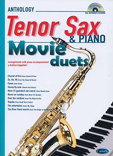 9788850725649: Movie Duets for Tenor Sax & Piano: Anthology Duets (Anthology Duets/Trios/Quartets)
