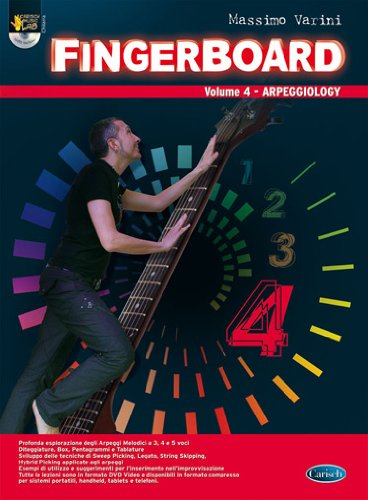 9788850726011: Fingerboard, Volume 4 (Arpeggiology)Ml3586
