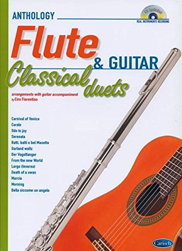 9788850726042: Classical Duets for Flute and Guitar Vol.1: Anthology Duets (Anthology Duets/Trios/Quartets)