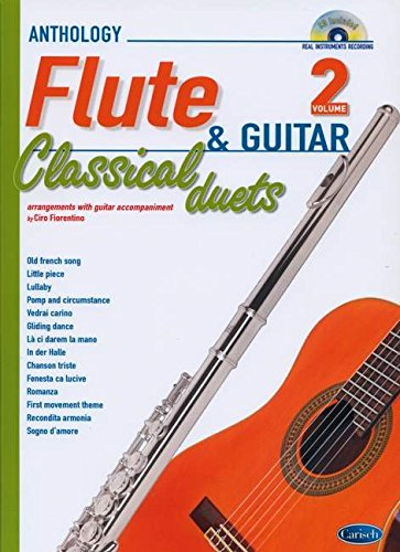 9788850726059: Classical Duets for Flute and Guitar Vol.2 (Anthology Duets/Trios/Quartets)