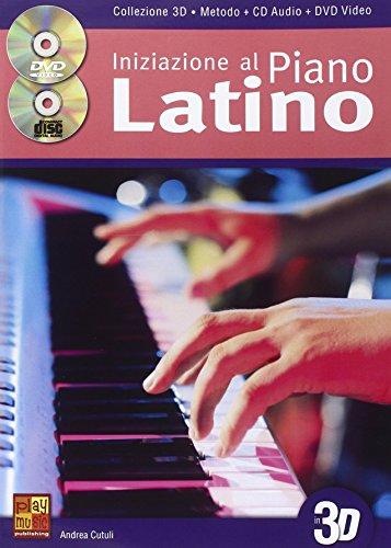 9788850728978: Andrea Cutuli: Iniziazione Al Piano Latino - Collezione 3D (Book/CD/DVD) - Partituras, CD, DVD (Región 0)