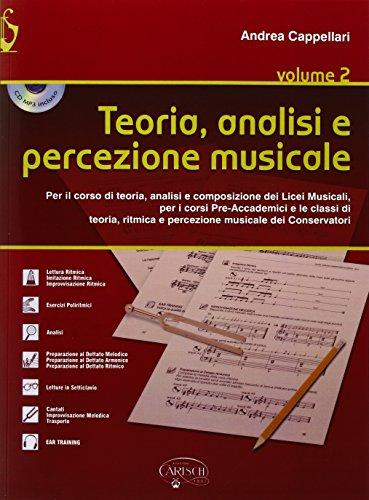 9788850729920: Teoria, analisi e percezione musicale. Per le Scuole superiori: 2