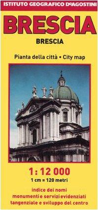 9788851102807: Brescia 1:12.000