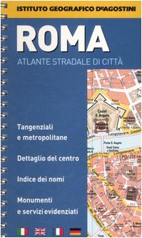 9788851103910: Roma Spiral Bound City Atlas