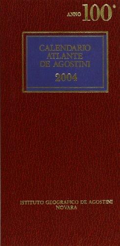 Calendario atlante De Agostini 2004: aa vv