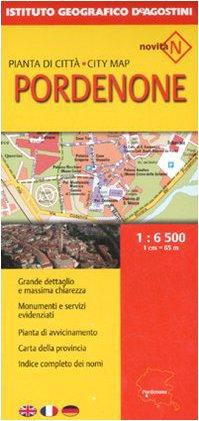 Pianta di Citta' 1:6 500 - Pordenone - AA.VV.