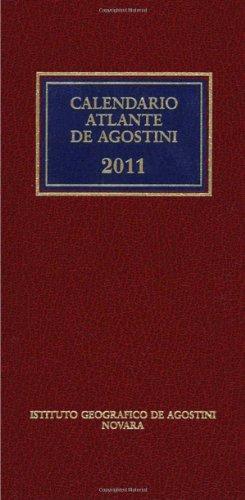 9788851115210: Calendario atlante De Agostini 2011. Con aggiornamento online
