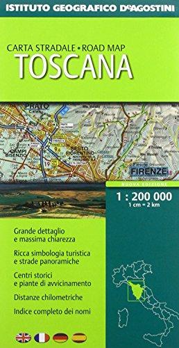 9788851116620: Toscana 1:200.000. Ediz. multilingue