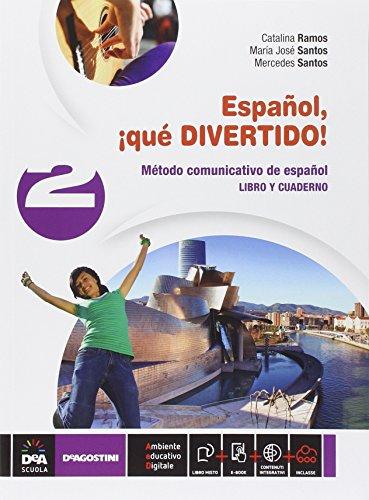 9788851118624: Español, ¡que divertido! Libro del alumno y cuaderno. Per la Scuola media. Con e-book. Con espansione online: 2