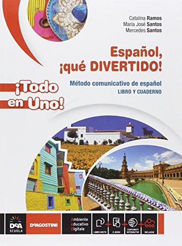 9788851118648: Espanol qué divertido! Vol. unico. Con E-Book e DVD [Lingua spagnola]