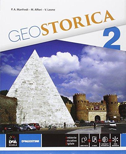 9788851119478: Geostorica. Atlante. Per le Scuole superiori. Con e-book. Con espansione online (Vol. 2)