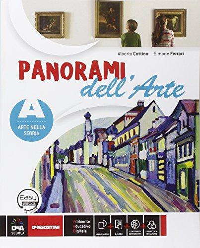 9788851120382: Panorami dell'arte. Vol. A-B-C. Per la Scuola media. Con DVD-ROM. Con e-book. Con espansione online