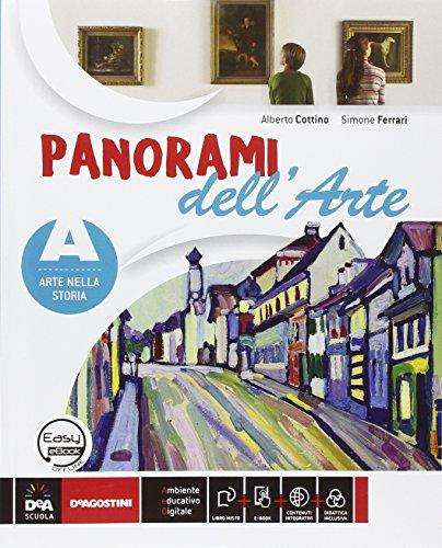 9788851120399: Panorami dell'arte. Vol. C. Per la Scuola media. Con DVD-ROM. Con e-book. Con espansione online
