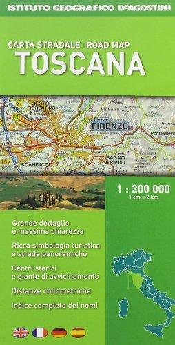 9788851122010: Toscana 1:200.000 (Carte stradali regionali d'Italia)