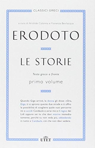 Le storie. Testo greco a fronte. Con e-book. Vol. 1.: Erodoto