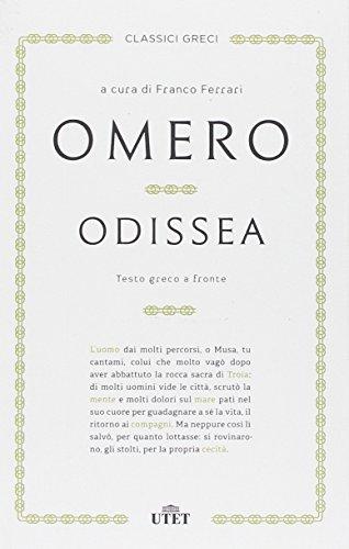 9788851122300: Odissea. Testo greco a fronte (Classici greci)