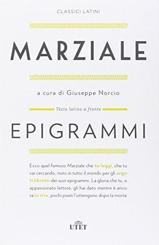 9788851125226: Epigrammi. Testo latino a fronte. Con e-book