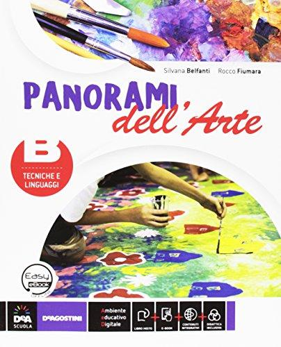 9788851127657: Panorami dell'arte. Vol. B. Per la Scuola media. Con espansione online