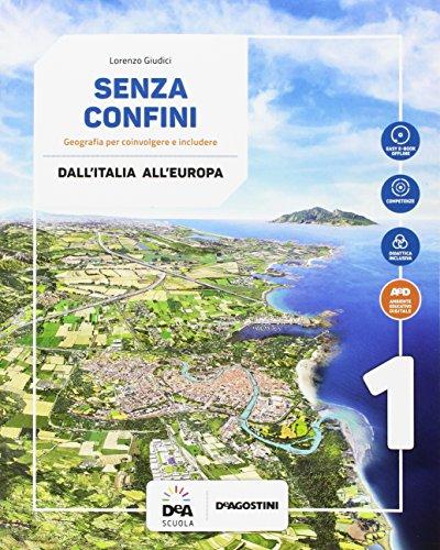 9788851128203: Senza confini. Per la Scuola media. Con e-book. Con espansione online. Con Libro: Atlante. Con DVD-ROM (Vol. 1)