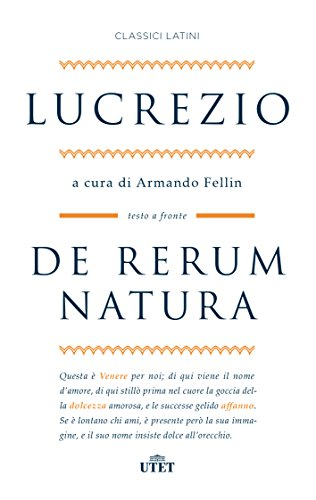 9788851151713: De rerum natura. Testo latino a fronte. Con ebook (Classici latini)