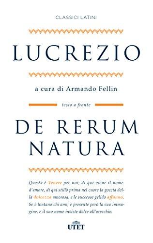 9788851151713: De rerum natura. Testo latino a fronte. Con ebook