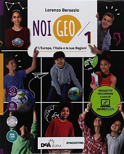9788851157838: Noi Geo. Geofacile. Con quaderno inclusivo. Per la Scuola media (Vol. 1)