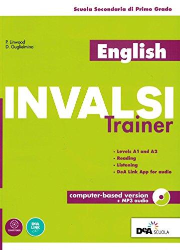 9788851158354: English INVALSI trainer. Per la Scuola media. Con espansione online. Con CD-ROM [Lingua inglese]