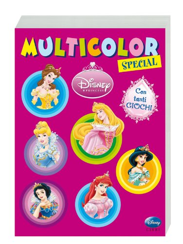 9788852209246: Disney princess. Multicolor special