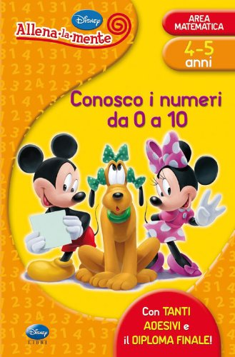 9788852211058: Conosco i numeri da 0 a 10. Con adesivi