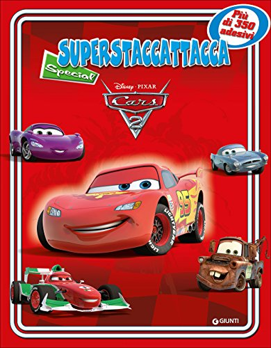 9788852211645: Cars 2. Superstaccattacca Special. Con adesivi