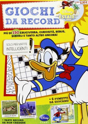 9788852216732: Giochi da record. Summer enigmistica. Ediz. illustrata