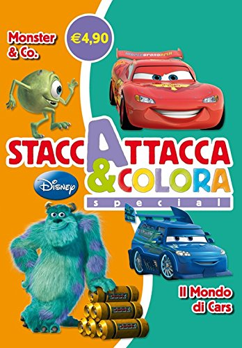 Monster & Co-Il mondo di Cars. Staccattacca