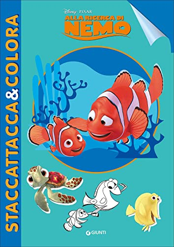 9788852225246: Alla ricerca di Nemo. Staccattacca e colora. Con adesivi. Ediz. illustrata
