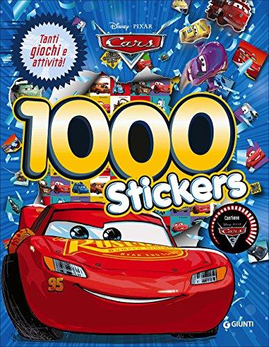9788852228131: Cars 3. 1000 stickers. Con adesivi
