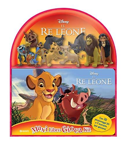 9788852234408: Il Re leone. Maxi libro gioca kit. Con 10 figurine 3D e scenario