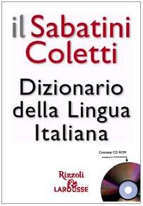 9788852500237: Il Sabatini Coletti. Dizionario della Lingua Italiana. Con CD-ROM