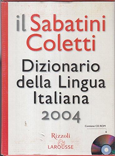 9788852500282: Il Sabatini Coletti. Dizionario della Lingua Italiana. Con CD-ROM