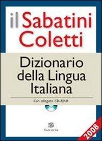 9788852501739: Il Sabatini Coletti dizionario della lingua italiana 2008. Con CD-ROM