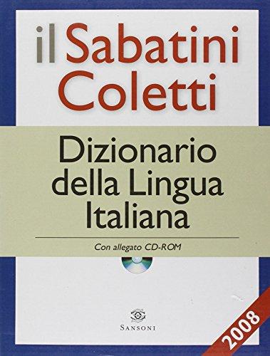 9788852550003: Il Sabatini Coletti. Dizionario della lingua italiana. Con CD-ROM