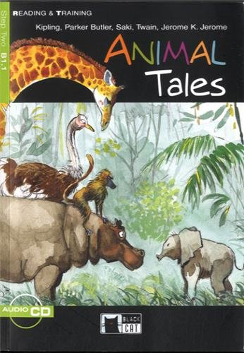 9788853000156: Animal tales. Con audiolibro. CD Audio (Reading and training)
