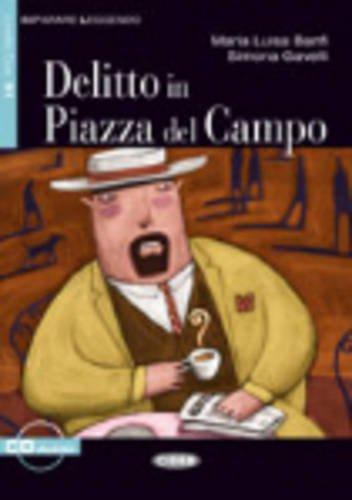 9788853000552: Delitto in Piazza del Campo+cd (Imparare Leggendo)