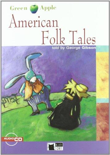 9788853001078: American folks tales. Con CD (Green apple)