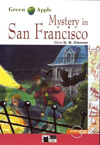 MYSTERY IN SAN FRANCISCO LIVRE + CD: CLEMEN GINA D B