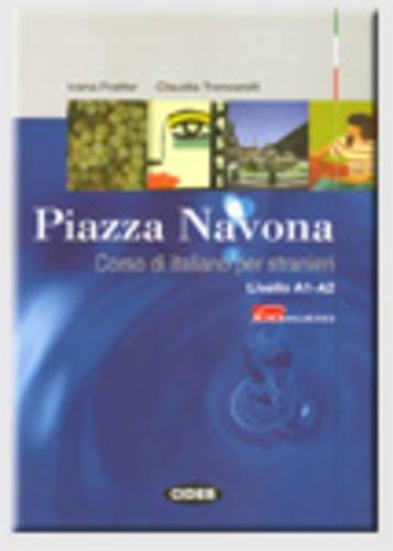 PIAZZA NAVONA LIVRE + CD LIVELLO A1 A2: FRATTER TRONCARELLI