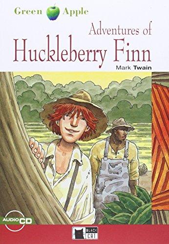 9788853003973: Adventures of Huckleberry Finn. Con CD Audio (Green apple)