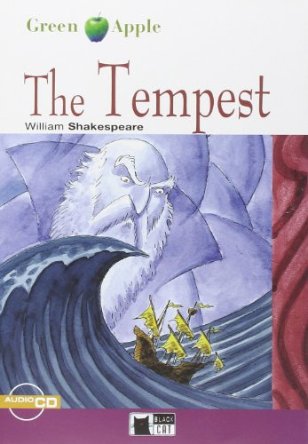 9788853004499: The tempest. Con CD Audio (Green apple)